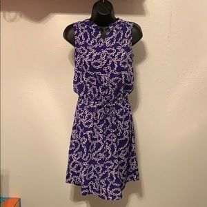 Blue Chain Dress Liz Claiborne